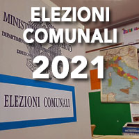 ELEZIONI COMUNALI 3 E 4 OTTOBRE 2021